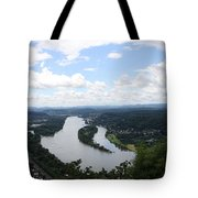 Island Nonnenwerth With Cloister Tote Bag
