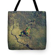 Island Of Fall Color Tote Bag