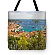 Island Of Hvar Scenic Coast Tote Bag