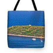 Island Of Susak Cape Church Tote Bag
