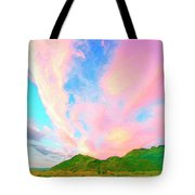 Island Sunrise Tote Bag