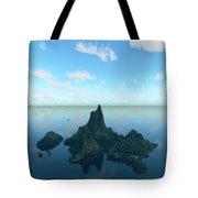Isle And Sea... Tote Bag