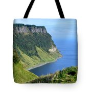 Isle Of Skye Sea Cliffs Tote Bag