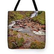 Isle Of Skye Waterfall Tote Bag
