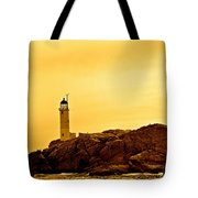 Isles Of Shoals Tote Bag by Mark Prescott Crannell