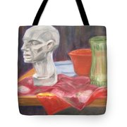 Isolated Head Tote Bag