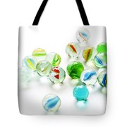 Isolated Marbles Tote Bag