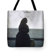 Isolated Woman Tote Bag