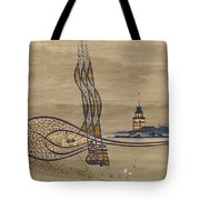 Istanbul Tote Bag by Ayhan Altun