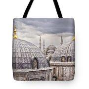 Istanbul Landmarks  Tote Bag