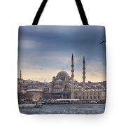 Istanbul Skyline Tote Bag