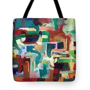 It Is Fitting To Feel The Pain Of Others Tote Bag by David Baruch Wolk