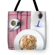Italian Food Tote Bag by Joana Kruse