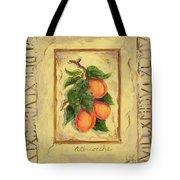 Italian Fruit Apricots Tote Bag