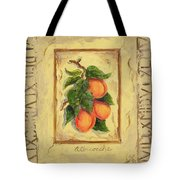 Italian Fruit Apricots Tote Bag