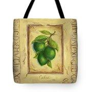 Italian Fruit Limes Tote Bag