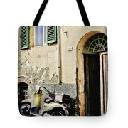 Italian Motor Scooter Tote Bag