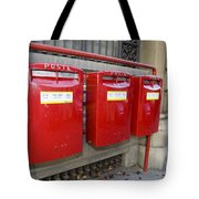 Italian Post Office Boxes Tote Bag