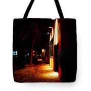 Italian Restaurant Tote Bag