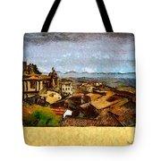Italian Rooftops Tote Bag