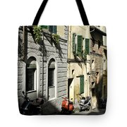 Italian Scooters Tote Bag