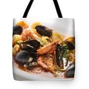 Italian Seafood Stew Tote Bag