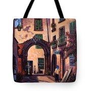 Italian Street Tote Bag