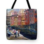 Italian Town Tote Bag