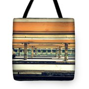 Italian Train Station Tote Bag