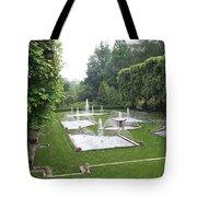 Italian Water Garden Tote Bag