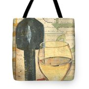 Italian Wine And Grapes 1 Tote Bag by Debbie DeWitt