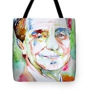 Italo Calvino Tote Bag