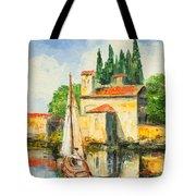 Italy - San Vigilio Tote Bag