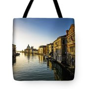 Italy, Venice, Buildings Along Canal Tote Bag