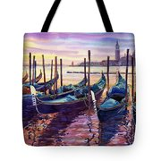 Italy Venice Early Mornings Tote Bag