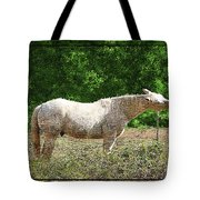 Itchy Horse Tote Bag