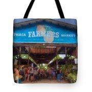 Ithaca Farmer's Market Tote Bag