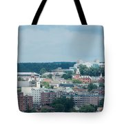 Ithaca New York And Cornell University Tote Bag
