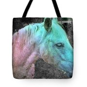 It's 1970 And I Want A Groovy Rainbow Pony Tote Bag