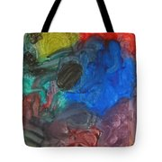 It's A Circle - Abstract Painting From A 2 Yr Old Boy Tote Bag