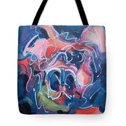 It's A Doggy Dog World Tote Bag