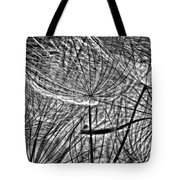It's A Jungle In There Bw Tote Bag by Steve Harrington