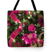 It's A Pink Christmas Tote Bag