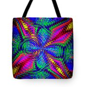 It's A Rainbow World Tote Bag