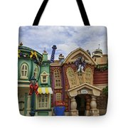 It's A Toontown Christmas Tote Bag