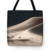 It's All Uphill Tote Bag