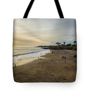 Its Beach Afternoon In Santa Cruz Tote Bag