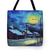Its Cold Outside. Tote Bag