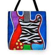 It's Electric Acrylic By Diana Sainz Tote Bag