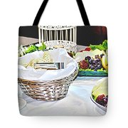 Its Fruit First Tote Bag